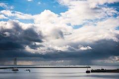 Sea gates Stock Image