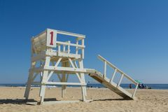 Sea Girt New Jersey Lifeguard Stand Stock Photos