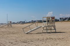 Sea Girt New Jersey Lifeguard Stand Royalty Free Stock Photo