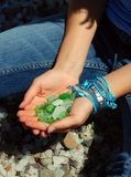 Sea Glass Royalty Free Stock Image