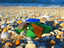 Sea Glass Royalty Free Stock Photography