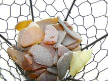 Sea glass closeup Stock Photo