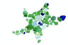 Sea Glass Collection Stock Photo