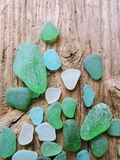 Sea glass pattern royalty free stock photos