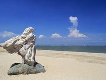 Sea goddess statue Royalty Free Stock Photo