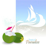 Sea Graphics Series - Enjoy beach and Sun in Hawaii Stock Photos