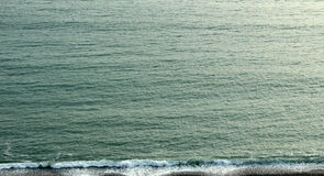 The sea. A great view from the pacific sea in lima, per Stock Photography
