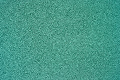 Sea Green Color Rough Concrete wall, for Background Stock Photography