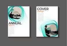 Sea-green de dekkings abstract van de malplaatjelay-out ontwerp als achtergrond moder vector illustratie