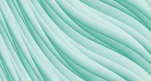 Sea Green High Resolution Gentle Diagonal Curves Abstract Background Design Stock Image