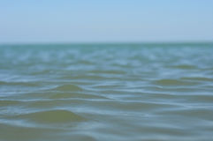 Sea. The green sea opposite to the blue sky royalty free stock photo