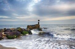Sea Groyne Royalty Free Stock Image