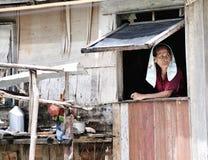 The Sea Gypsies. Bajau People... The Sea Gypsies. Bajau People's life in Borneo Semporna Malaysia Royalty Free Stock Photography