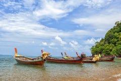 Sea gypsies boats