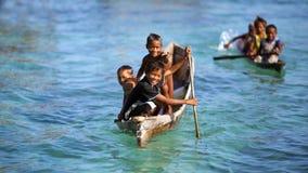 The sea gypsies Royalty Free Stock Image