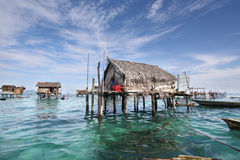 Free Sea Gypsy Villages Semporna Sabah Malaysia Stock Images - 39642724