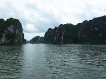 Sea in Ha Long Bay stock image