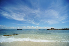 Sea in Hainan Royalty Free Stock Photos