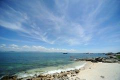 Sea in Hainan Stock Image
