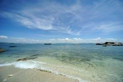 Sea in Hainan Stock Photography