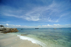 Sea in Hainan Royalty Free Stock Images