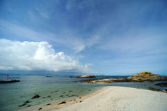 Sea in Hainan Royalty Free Stock Photo