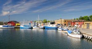 Sea harbor in Nogersund Royalty Free Stock Photo