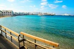 Sea harbour Stock Photo