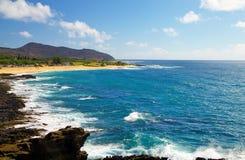 Sea in hawaii Stock Photos