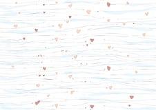 Sea of hearts Royalty Free Stock Photo