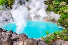 Sea Hell Hot Spring of Japan Royalty Free Stock Photography