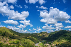Sea of hills Royalty Free Stock Images