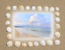 Sea holiday background Stock Image