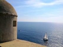 Sea on holidays royalty free stock photos