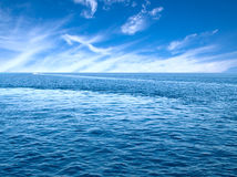 Sea horizon. Stock Photo