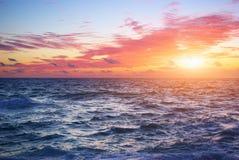 Sea horizon Stock Photos