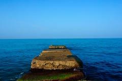 Sea Horizon Abstract Background Royalty Free Stock Photos