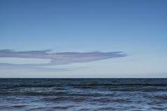 Sea and horizon. royalty free stock photos