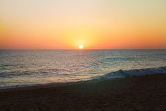 Sea, Horizon, Sky, Body Of Water royalty free stock photos