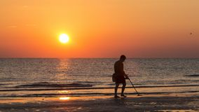 Sea, Horizon, Sunset, Sunrise Royalty Free Stock Images