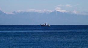 Sea, Horizon, Waterway, Coastal And Oceanic Landforms royalty free stock image