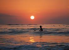 Sea, Horizon, Wave, Body Of Water royalty free stock photos
