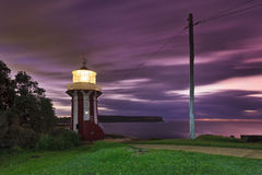 Sea Hornby Light Pole Royalty Free Stock Image