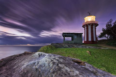 Sea Hornby Lighthouse Stone Royalty Free Stock Photo