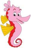 Sea horse. Vector clip-art / children's illustration for your design Royalty Free Stock Photos