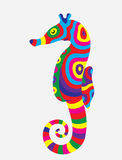 Sea horse colorfully Stock Photo