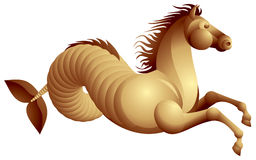 Sea horse, hippocamp Royalty Free Stock Photography