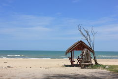Sea. The sea in Huahin Thailand Royalty Free Stock Photo
