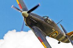 Sea Hurricane in flight Stock Photography