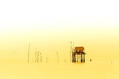 Sea hut Royalty Free Stock Photography